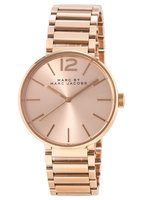 Marc By Marc Jacobs   Peggy Rose Gold-Tone Sunray Dial Women's Watch MBM3402