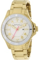 Marc By Marc Jacobs   Dizz Sport White Dial  Gold-Tone Women's Watch MBM3408