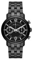 Marc By Marc Jacobs   Fergus Chronograph Black Dial Black Ion-Plated Men's Watch MBM5065