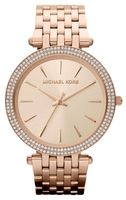 Michael Kors Ladies  Darci Rose Gold-Tone Women's Watch MK3192