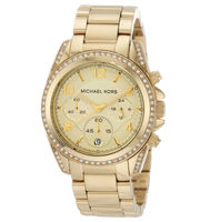 Michael Kors Ladies Chronograph   Women's Watch MK5166