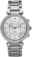 Michael Kors Ladies Chronograph  Parker Stainless Steel Women's Watch MK5353