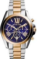 Michael Kors   Bradshaw Chronograph Blue Dial Two-tone Women's Watch MK5976