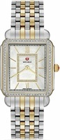 Michele Deco II Mid Size Diamond Two Tone Women's Watch MWW06I000004