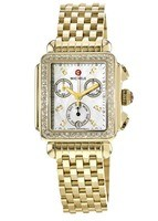Michele Deco Diamond Gold Women's Watch MWW06P000100