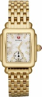 Michele Deco Mid Gold Women's Watch MWW06V000004