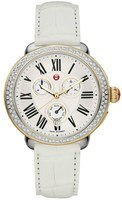 Michele Serein Chronograph Two Tone Gold Women's Watch MWW21A000015