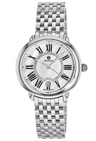 Michele Serein  Mother of Pearl Diamond Dial Women's Watch MWW21B000009-SD