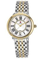 Michele Serein Mid Two Tone Gold Women's Watch MWW21B000015