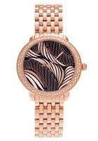 Michele Serein Diamond Rose Gold Willow Diamond Dial Women's Watch MWW21B000091