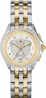 Michele Belmore Chrono Diamond Two-Tone Women's Watch MWW29B000006