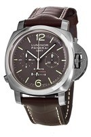 Panerai Luminor 1950 8 Days Chrono Monopulsante GMT Titanio 44mm Men's Watch PAM00311