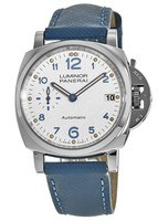 Panerai Luminor Due 38mm Automatic Ivory Dial Blue Fabric Strap Men's Watch PAM00903