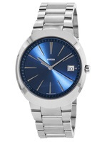 Rado D-Star XL Quartz Blue Dial Stainless Steel Men's Watch R15943203