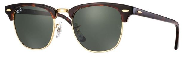 Ray-Ban   Clubmaster Classic Standard  Sunglasses RB3016 W0366 49-21