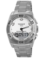 Tissot T-Touch Racing-Touch White Digital & Analog Dial Steel Men's Watch T002.520.11.031.00