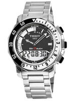 Tissot T-Touch Sea-Touch Analog-Digital Black Dial Men's Watch T026.420.11.051.00