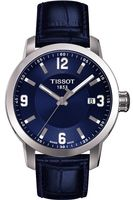 Tissot T-Sport PRC 200 Blue Dial Blue Leather Men's Watch T055.410.16.047.00