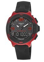 Tissot T-Race Touch Red Aluminum Rubber Strap Men's Watch T081.420.97.207.00