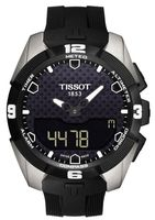 Tissot T-Touch Expert Solar Black Dial Rubber Strap Men's Watch T091.420.47.051.00