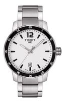 Tissot Quickster  Silver Dial Stainless Steel Men's Watch T095.410.11.037.00
