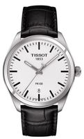 Tissot   Silver Dial Black Leather Men's Watch T101.410.16.031.00