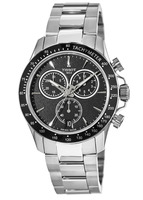 Tissot V8 Quartz Chronograph Stainless Steel Black Dial Men's Watch T106.417.11.051.00