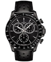 Tissot V8 Quartz Chronograph Black Dial Men's Watch T106.417.36.051.00