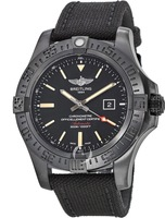 Breitling Avenger Avenger Blackbird 48 Special Edition Black Titanium Black Band Men's Watch V1731010/BD12-104W