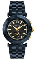 Versace V-Race  Blue Steel Men's Watch VAH050016