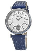 Versace V-Helix  Steel with  Diamond Women's Watch VQG060015