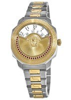 Versace Dylos  Icon Limited Edition Two Tone Stainless Steel Women's Watch VQU090016