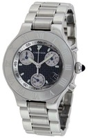 Cartier Must 21 Chronoscaph  Men's Watch W10172T2