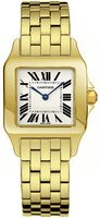 Cartier Santos Demoiselle 18kt Yellow Gold Women's Watch W25062X9