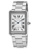 Cartier Tank Solo Automatic Steel Men's Watch W5200028