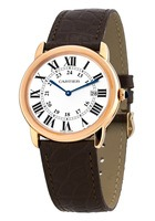 Cartier Ronde Solo  Rose Gold on Strap Women's Watch W6701008