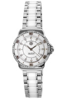 Tag Heuer Formula 1 Quartz White Ceramic Diamond Women's Watch WAH1313.BA0868