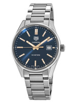 Tag Heuer Carrera Quartz Blue Dial Steel Women's Watch WAR1112.BA0601