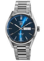 Tag Heuer Carrera Calibre 5 Day-Date Automatic Blue Dial Men's Watch WAR201E.BA0723
