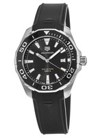 Tag Heuer Aquaracer 300M 43MM Black Dial Rubber Strap Men's Watch WAY101A.FT6141