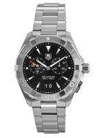 Tag Heuer Aquaracer Alarm 300M 40.5MM Black Dial Steel Men's Watch WAY111Z.BA0928
