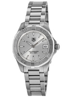 Tag Heuer Aquaracer Lady 300M 32MM Silver Dial Steel Band Women's Watch WAY1311.BA0915