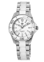 Tag Heuer Aquaracer  White Ceramic & Steel Women's Watch WAY131B.BA0914-SD