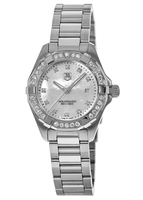 Tag Heuer Aquaracer Lady 300M 27MM Mother of Pearl Diamond Women's Watch WAY1414.BA0920