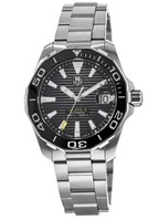Tag Heuer Aquaracer  Black Dial Ceramic Bezel Men's Watch WAY211A.BA0928-PO