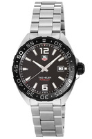Tag Heuer Formula 1 Quartz Black Dial Steel Men's Watch WAZ1110.BA0875