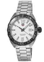 Tag Heuer Formula 1 Quartz White Dial Steel Men's Watch WAZ1111.BA0875