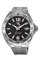 Tag Heuer Formula 1 Quartz Black Dial Silver Bezel Men's Watch WAZ1112.BA0875-PO