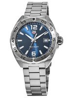 Tag Heuer Formula 1 Quartz Blue Dial Stainless Steel Men's Watch WAZ1118.BA0875