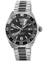 Tag Heuer Formula 1 Automatic 200M Calibre 5 43mm Anthracite Sunray Dial Ceramic & Steel Men's Watch WAZ2011.BA0843